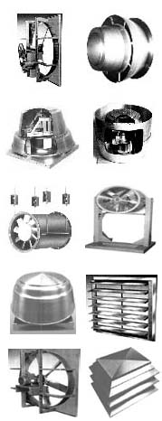 Commercial ventilator